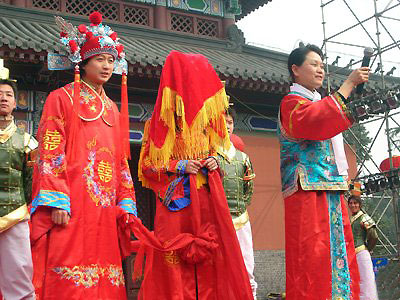 Traditional marriage in china