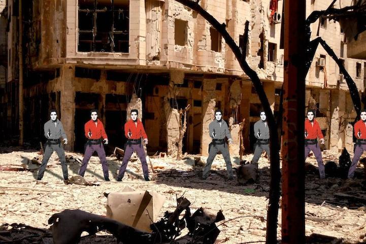 Syria2- Andy Warhol's Elvis