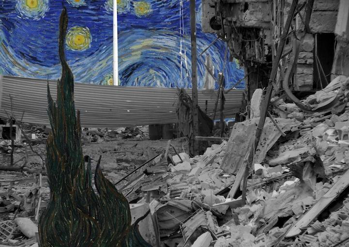 Syria4 Vincent van Gogh's Starry Night