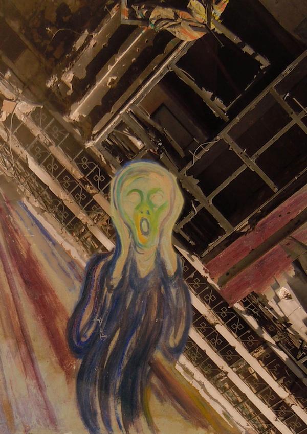 Syria5 Edvard Munch's The Scream