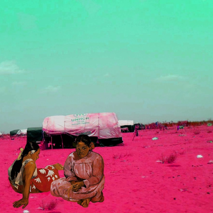 Syria7 Paul Gauguin's Tahitian Women on the Beach