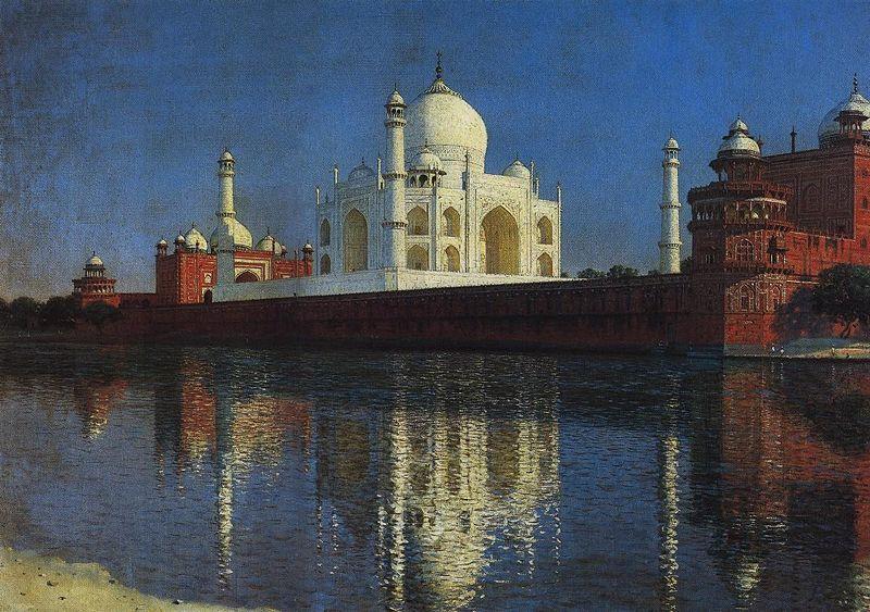 VasilyVereshchagin Taj Mahal 1876