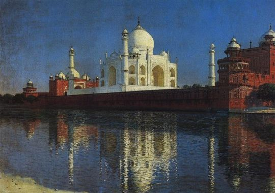 VasilyVereshchagin Taj Mahal 1876
